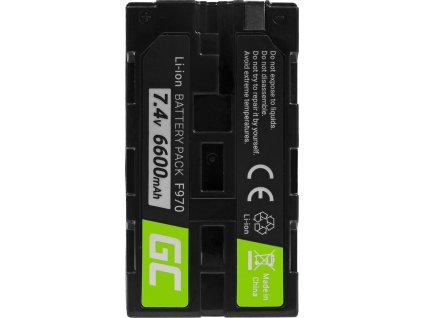 Batéria do fotoaparátu Sony NP-F330 NP-F530 7.4V 6600mAh