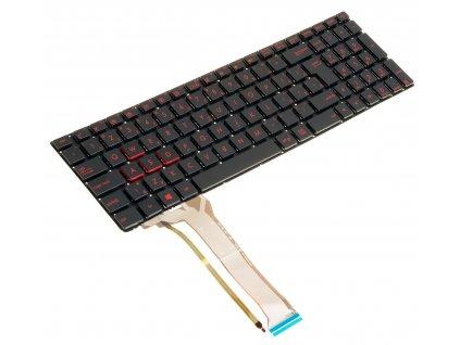 Podsvietená SK  klávesnica na notebook Asus G551 G551J G552 G552V GL551 GL551J GL552 GL552J GL552V