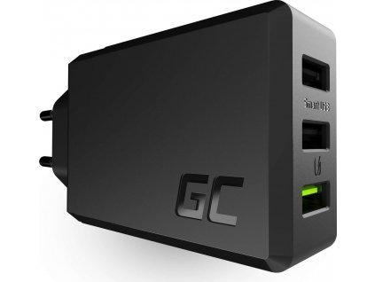 Nabíjačka ChargeSource3 3xUSB 30W s technológiou rýchleho nabíjania Ultra Charge a Smart Charge