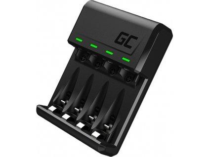 Green Cell GC VitalCharger Ni-MH AA - AAA nabíjačka batérií s Micro USB a USB-C port