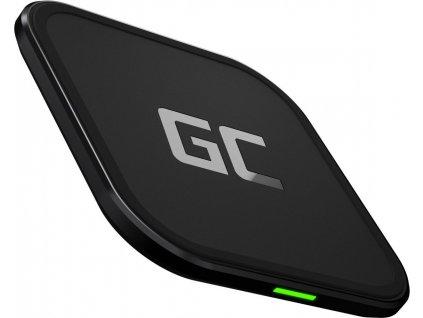 GC AirJuice 15 W bezdrôtová nabíjačka s funkciou rýchleho nabíjania a certifikátom Qi