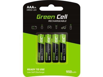 4x batérie AAA HR03 950mAh