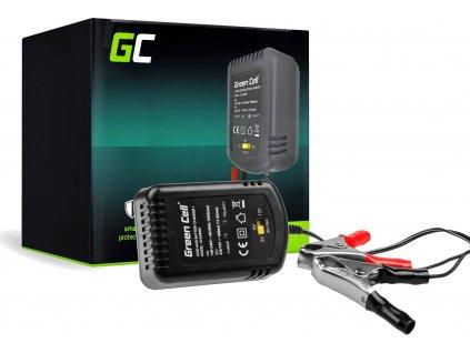 Nabíjačka batérií Green Cell pre batérie AGM, UPS, 2V / 6V / 12V (0.6A)