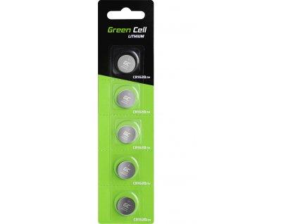 5x Green Cell CR1620 batéria lítiová batéria 3V 70 mAh