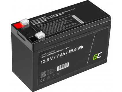 Lítium železo fosfátová batéria  LiFePO4 12V 12.8V 7Ah pre fotovoltický systém, obytné autá a člny