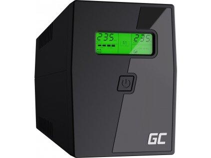 Záložný zdroj  UPS s LCD obrazovkou 800VA 480W