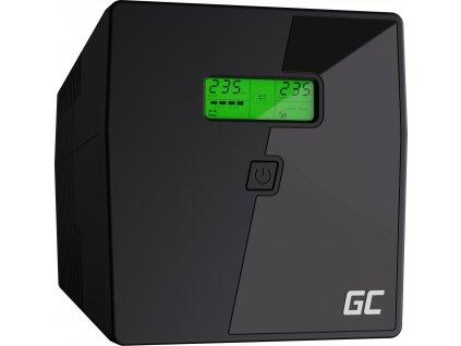 Záložný zdroj UPS s LCD obrazovkou 1000VA