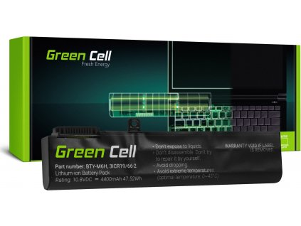 Batéria BTY-M6H pre MSI GE62 GE63 GE72 GE73 GE75 GL62 GL63 GL73 GL65 GL72 GP62 GP63 GP72 GP73 GV62 GV72 PE60 P