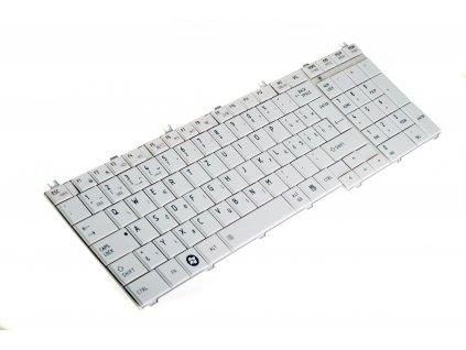 8150 9124 Biela SK klávesnica na notebook Toshiba Satellite C650 C655 C660 C665 L650 L655 C670 L670 L750 L770 SK 6