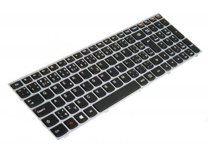 KB70SK strieborna 8150 71975 klávesnica Lenovo IdeaPad G50 G50 30 G50 45 G50 70 B50 30 B50 45 B50 70 black silver CZ SK 4