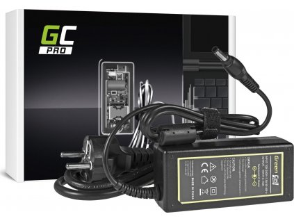 Green Cell PRO nabíjačka na notebook Samsung R522 R530 R540 R580 Q35 Q45 19V 3.16A