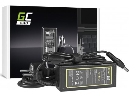 Green Cell PRO nabíjačka na notebook Toshiba Sattelite A200 A300 L200 L300 L500 L505 19V 3.42A