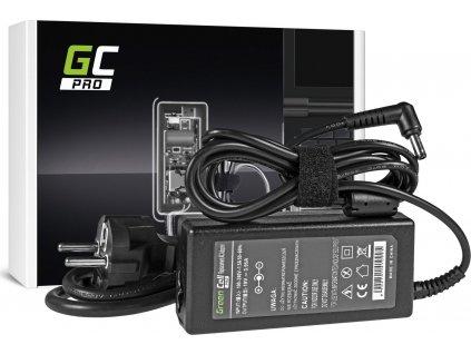Green Cell PRO nabíjačka na notebook Toshiba Satellite A100 A200 A300 L300 L40 L100 M600 M601 M602 M600 19V 3.95A
