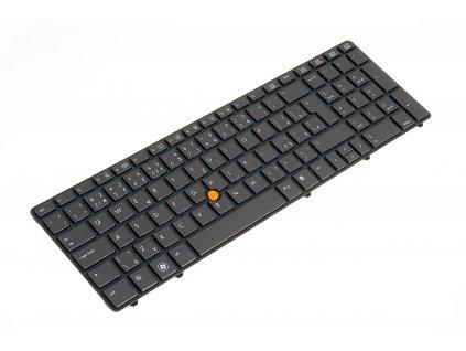 8150 4704 klávesnica HP Elitebook 8560W 8570W black CZ SK trackpoint 1