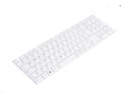 8150 91281 SK klávesnica Toshiba Satellite Pro C850 C855 C870 L850 L855 white