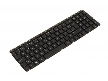klávesnica HP Pavilion 15 B black SK CZ no frame 2