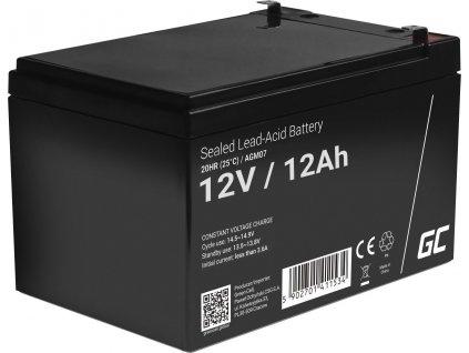 Batéria AGM Green Cell 12V 12Ah