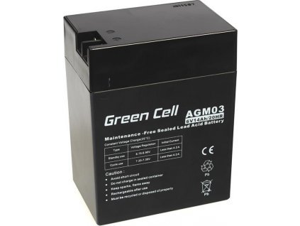 Batéria AGM Green Cell 6V 14Ah