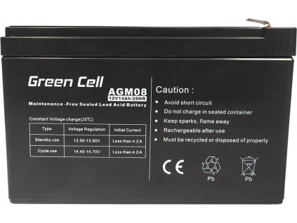Batéria AGM Green Cell 12V 14Ah