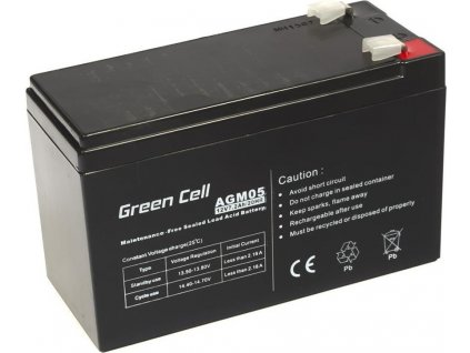 Batéria AGM Green Cell 12V 7.2Ah