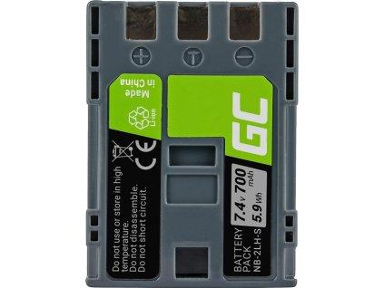Batéria do fotoaparátu Canon PowerShot G7 G9 S70 S80 R100 R11 Canon Elura 85 90 EOS 350D 400D 7.4V 700mAh