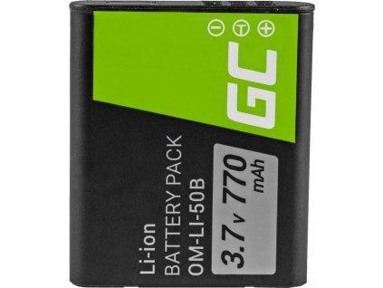 Batéria do fotoaparátu Olympus SZ-15, SZ-16, Tough 6000, 8000, TG-820, TG-830, TG-850, VR-370, XZ-1, XZ-10 3.7V 770mAh
