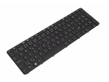 HP Probook 450 G3 455 G3 470 G3 black CZ SK podsvietená nefunkční touchpoint 5