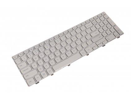 8150 56283 klávesnica Dell Inspiron 15 7000 7537 7737 silver US CZ česká s podsvietním 5