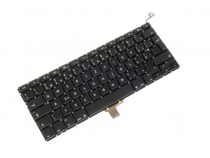 Klávesnica Apple Macbook Pro Unibody A1278 MB466 MB467 čierna CZ česká no frame + podsvietenie 8