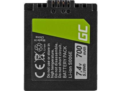 Batéria do fotoaparátu Panasonic DMC FZ35, FZ7, FZ8, FZ18, FZ30, FZ50 7.4V 700mAh