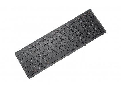 klavesnica lenovo g500s g505s s500 s510 z510 black silver uk cz ceska backlight dotisk