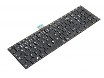 8150 91271 klávesnica Toshiba Satellite Pro C850 C855 C870 L850 L855 čierna CZ leskla 2