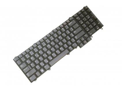 CZ Klávesnica Dell Latitude E5520 E5530 E6520 E6530 E6540 M4600 M4700 M6600 5