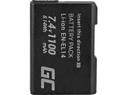 Batéria do fotoaparátu Nikon D3200, D3300, D5100, D5200, D5300, D5500, Coolpix P7000, P7700, P7800 7.4V 1100mAh