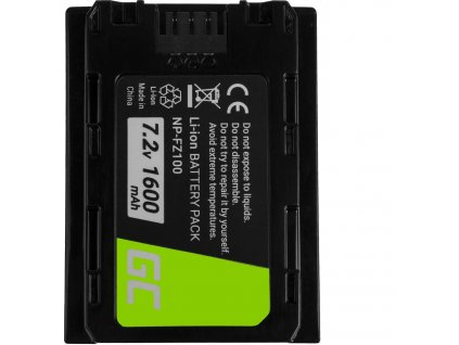 Batéria do fotoaparátu Sony Alpha A7 III A7R III A9 A9R A9S ILCE-7M3 7RM3 7.2V 1600mAh