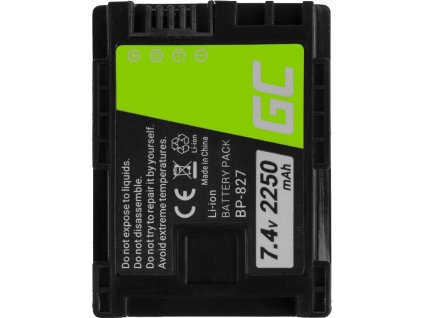 Batéria do fotoaparátu Canon VIXIA HF G10 HF G20 HF M30 HF M3 HF M32 HF M40 HF M300 XA10 7.4V 2250mAh