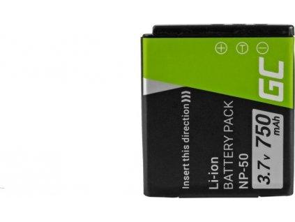 Batéria FujiFilm F100, F200, F300, F500, F600, F700, F80, X10, X20 3.7V 750mAh