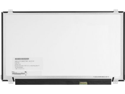 Innolux displej N156BGA-EB2 for 15.6 inch laptops, 1366x768 HD, eDP 30 pin, glossy