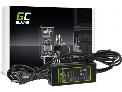 Green Cell PRO Charger | AC Adapter pre  Asus X201E Vivobook F200CA F200MA F201E Q200E S200E X200CA X200M X200MA 19V 1.75A 33W