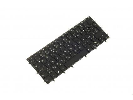 klávesnica (keyboard) Dell XPS 15 9550 D1728 15 9550 D1828T 5510 P56F black CZ SK 4