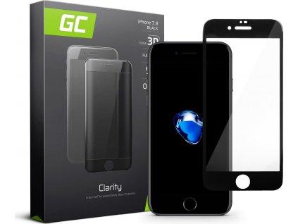 Ochranné sklo GC Clarity na telefón Apple iPhone 7, 8 - Čierna