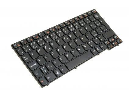 8150 7020 Klávesnica na notebook Lenovo IdeaPad S10 3 S10 3S S205 čierna CZ SK 4