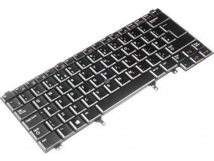 Podsvietená klávesnica Dell Latitude E6220 E6320 E6430 E6420 E5420 XT3  + darček k produktu  SK polepy zdarma
