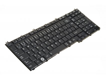 9110 Klávesnica na notebook Toshiba Satellite A500 L350 L500 P100 P200 P300 black CZ 5