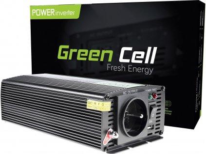 Automobilový menič napätia Green Cell ® 12V do 230V, 500W/1000W