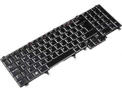 Klávesnica na notebook Dell Latitude E5220,E5520, E6520, E6530, E6540  + darček k produktu  SK polepy zdarma
