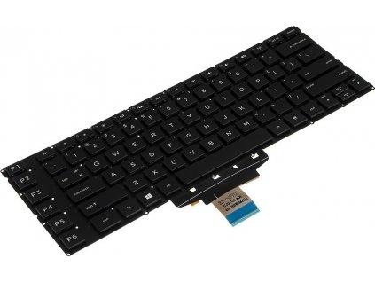 Klávesnica na notebook HP Omen 15 15-5000 15-5100 15-5200 (podsvietená)  + darček k produktu  SK polepy zdarma