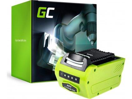 Batéria do Aku náradia kosačky GreenWorks 2601102 G-MAX 40V 4Ah Samsung