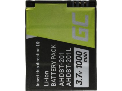 Batéria do fotoaparátu GoPro HD Hero 3 AHDBT-201 AHDBT-301 3.7V 1050mAh