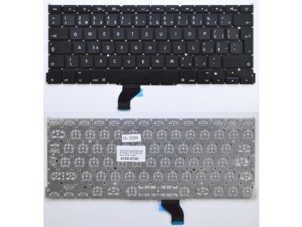 klavesnice pro notebook apple macbook pro retina 13 a1502 2013 black cz ceska no frame